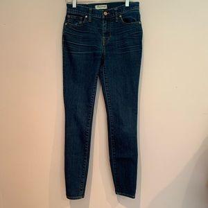 Madewell Hi Rise Skinny Jeans.  Size 26